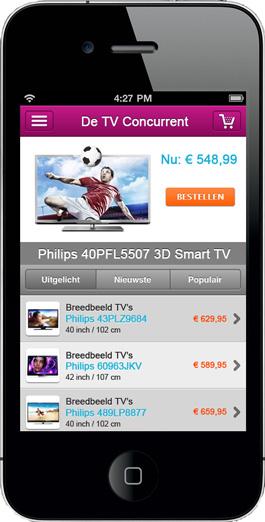 Mobiele webshop SEOshop