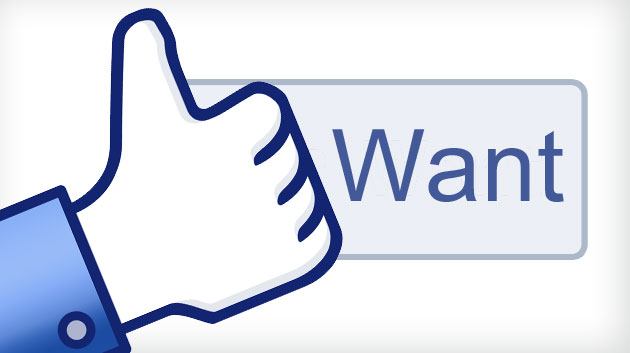 Facebook test Want-button voor webshops
