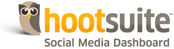 Hootsuite social media dashboard