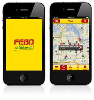 iPhone app Febo