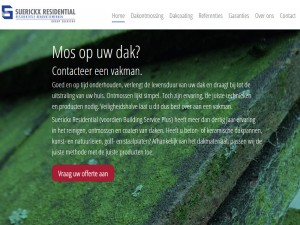 One pager WordPress website voor leadgeneratie