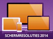 Schermresoluties 2014