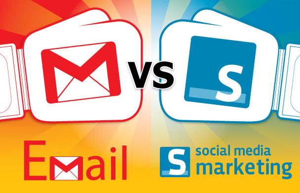 Email marketing versus social media
