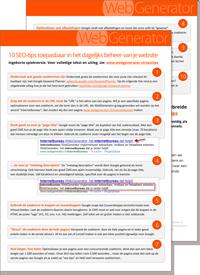 Download de PDF met SEO tips